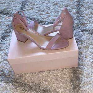 Lilac Noura heels Just Fab